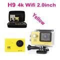 Câmera ação Ultra HD 4 K WiFi 1080 P/60fps 2.0 LCD 170 lente Capacete Cam ir câmera à prova d' água pro estilo