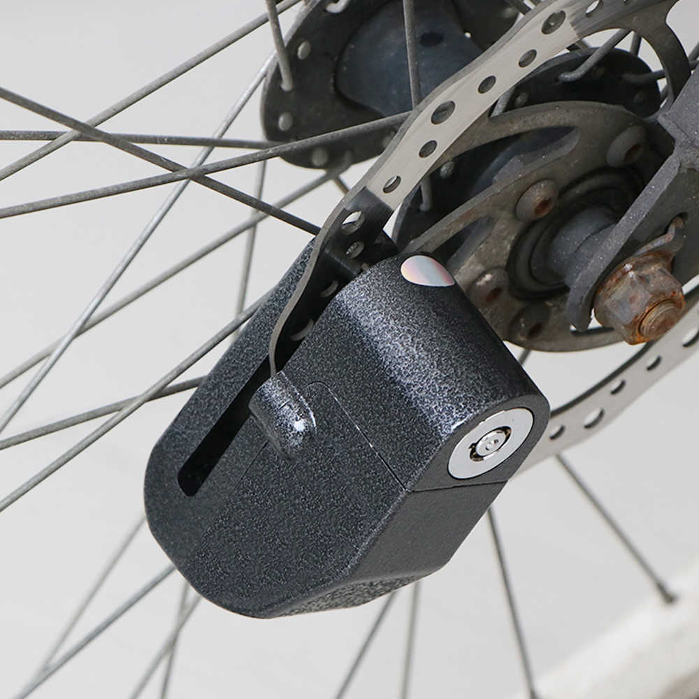 Tahan Air Sepeda Motor Alarm Kunci Sepeda Kunci Keamanan Anti-Theft Lock Moto Rem Cakram Keamanan Sirene untuk Suzuki Kawasaki BMW