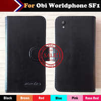 6 Colors Hot!! In Stock Obi Worldphone SF1 Case Ultra-thin Leather Exclusive For Obi Worldphone SF1 Phone Cover+Tracking