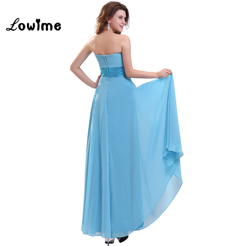 Y Boho Country Wedding Guest Light Blue Sequin Party Bridesmaid Dress Prom Dresses Vestidos De Madrinha In From