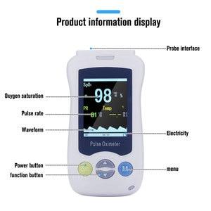 Image 2 - Yongrow Medical Adult Children Newborns Handheld Pulse Oximeter Pediatric Blood Oxygen Monitor SPO2 PR health care real time