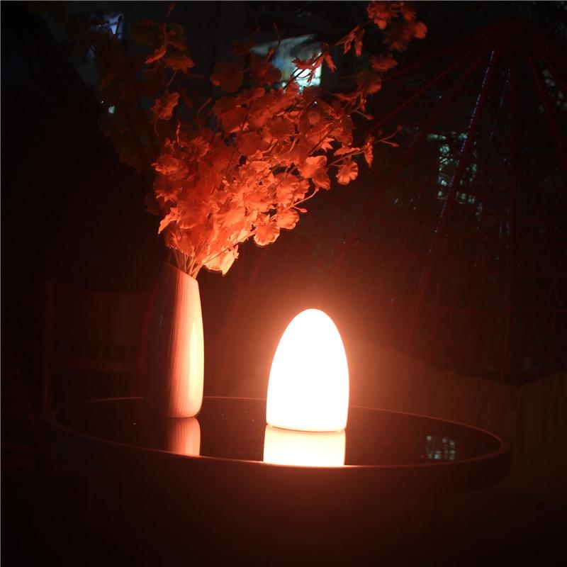 Skybesstech D10 * H15cm RGBW LED olu kvēlojošs galda lukturis Nakts - Nakts gaismas - Foto 3