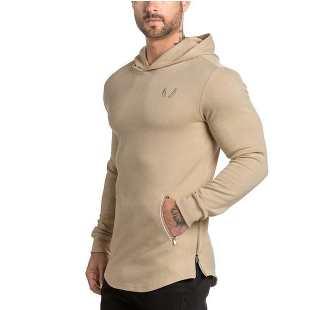 Long-sleeved Hooded Outdoor Men's tight-fitting sports 2