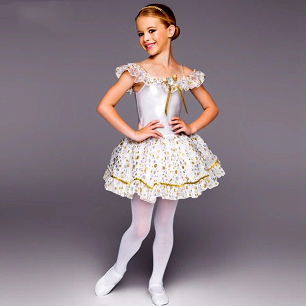 2017 blanc cygne lac Ballet Tutu robe filles ballerine Tutu robe enfants danse vêtements Ropa De Balet enfant Ballet Costume