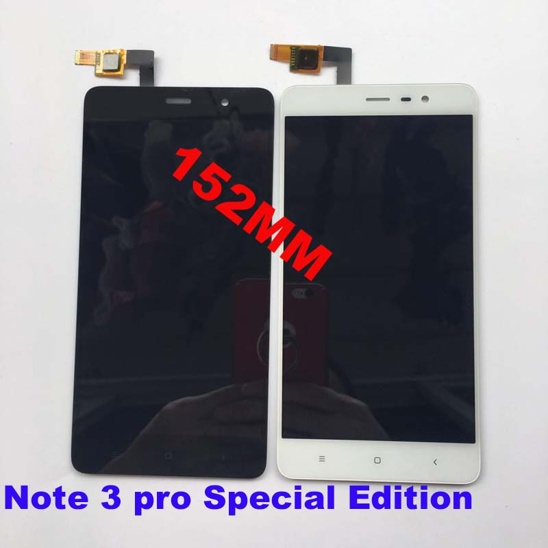 imágenes para Pantalla LCD + Asamblea de Pantalla Táctil Digitalizador Para Xiaomi Redmi Nota 3 Pro Nota $ Number Pro Primer SÍ Global Version 152mm
