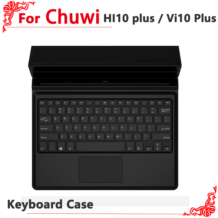 Original Keyboard Case for Chuwi Vi10 Plus Magnetic Docking Touchpad with Foldable Stand For Chuwi Hi10