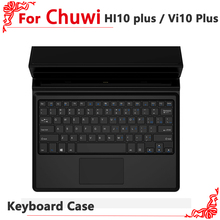 Original Keyboard Case for Chuwi Vi10 Plus Magnetic Docking Touchpad with Foldable Stand For Chuwi Hi10 Plus 10.8 Inch Tablet Pc