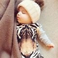 Moms Care big tiger Print Baby Rompers Cute Summer Spring Autumn Boys Girls Clothing Infant Baby Ropa Children's Jumpsuit