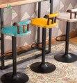 Европейский стиль деревянный стул бар ретро деревянные барные стулья подъемные поворотные табурет BZ-3631