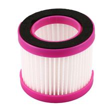 Vacuum Filter Element Filter Screen for Dust Mite Controller Vacuum Cleaner D-602/D-602A/D-607/D-609 Accessory Pink(China)