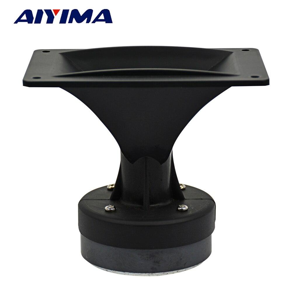 AIYIMA 1 шт. 4-дюймовый аудио портативный динамик 8 Ом 80 Вт Высокочастотный динамик DIY сценический динамик Громкоговоритель ВЧ домашний кинотеат...
