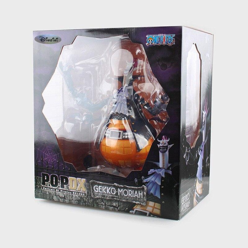 ФОТО Anime One Piece P.O.P DX Gekko Moria PVC Action Figure Collectible Model Toy 31cm