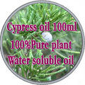 100% pure plant водорастворимые эфирные масла Кипариса масла Ароматерапия ванна, посвященный Управления Подтяжки Кожи Лица Красоты
