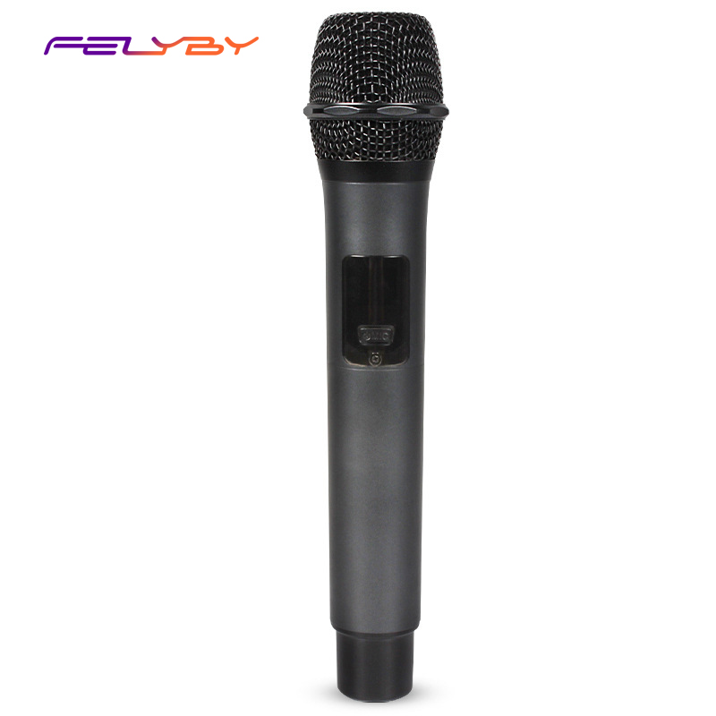 FELYBY microphone sans fil u-segment microphone universel un pour un microphone sans fil microphone rechargeable