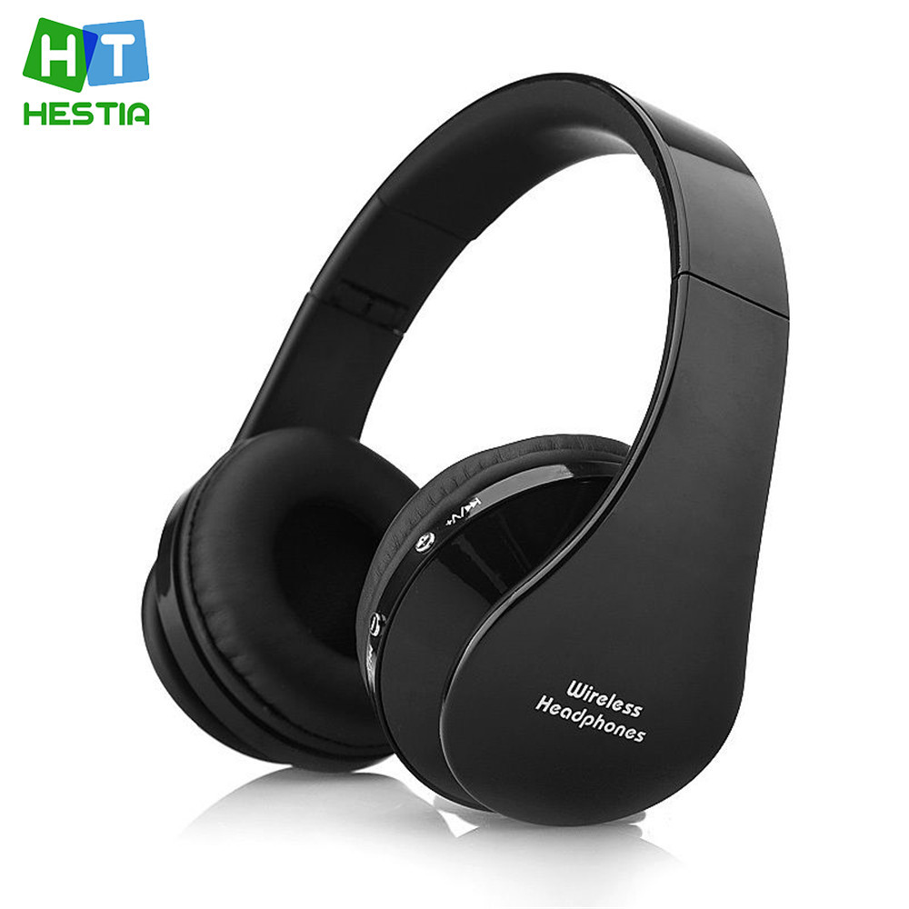HESTIA Bluetooth Headphones Nx-8252 Wireless Stereo Sport Foldable Headsets With Microphone For IPhone Meizu Xiaomi Computer MP3 hestia ex 01 bluetooth earphone car headphones with microphone auriculares wireless stereo headset audifonos for iphone 6 7 sony