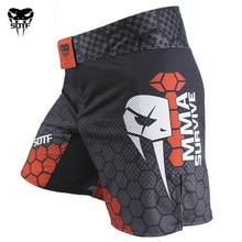 Sotf Mma Geometrie Technologie Snake Head Fitness Ademende Boksen Shorts Tiger Muay Thai Mma Shorts Kickboksen Vechten Broek Sanda
