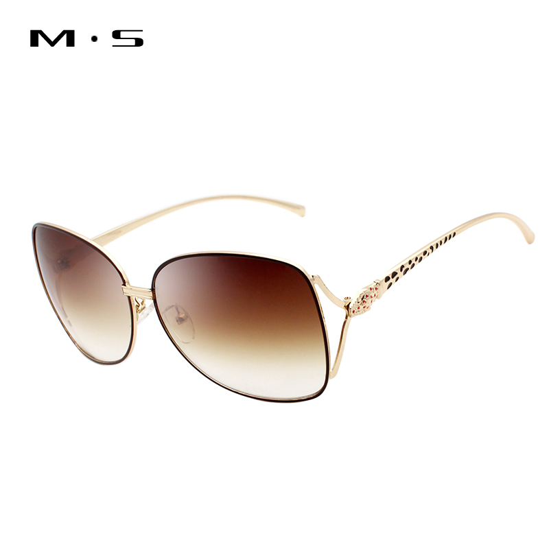 MS 2017 Women Luxury Decoration Classic Eyewear Female Sunglasses Original Brand Designer Sunglasses Sun Glasses Fashion UV400