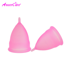 500 pcs menstrual cup collector menstrual medical silicone coupe menstruelle period cup woman lady cup feminine menstruatie cup