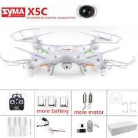 Originele Syma X5c Drone Met Camera Dron Headless Modus Rc Helicopter Rc Quadcopter Flying Camera Drone Afstandsbediening Drone Speelgoed