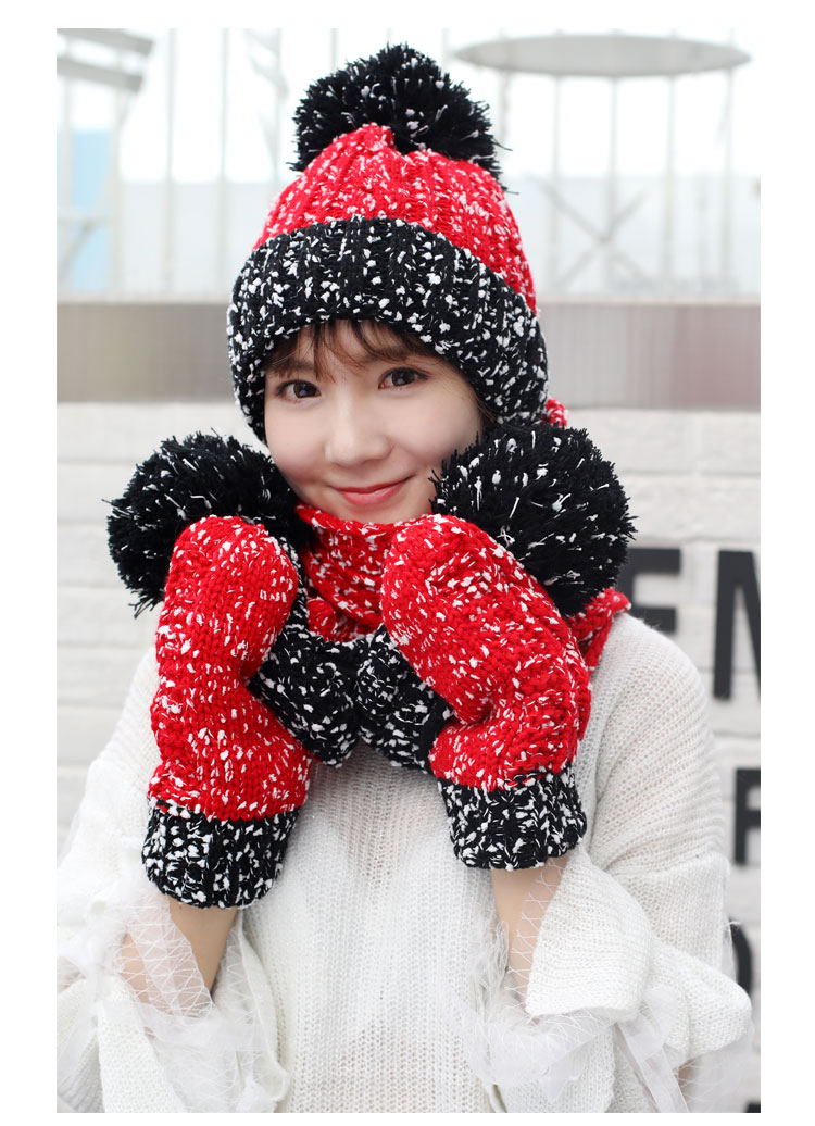 at and scarf set hat and scarf women\`s knitted hat and scarf for women Hat & Glove Sets hat and scarf set winter hat and scarf sets (5)