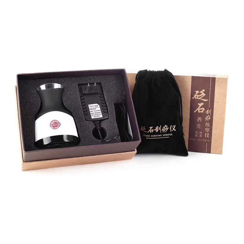 Image 5 - Infrared Electric Scraping Massager Body Slimming Cupping Guasha Massage Stimulate Acupoint Acupuncture Therapy Health Care-in Massage & Relaxation from Beauty & Health