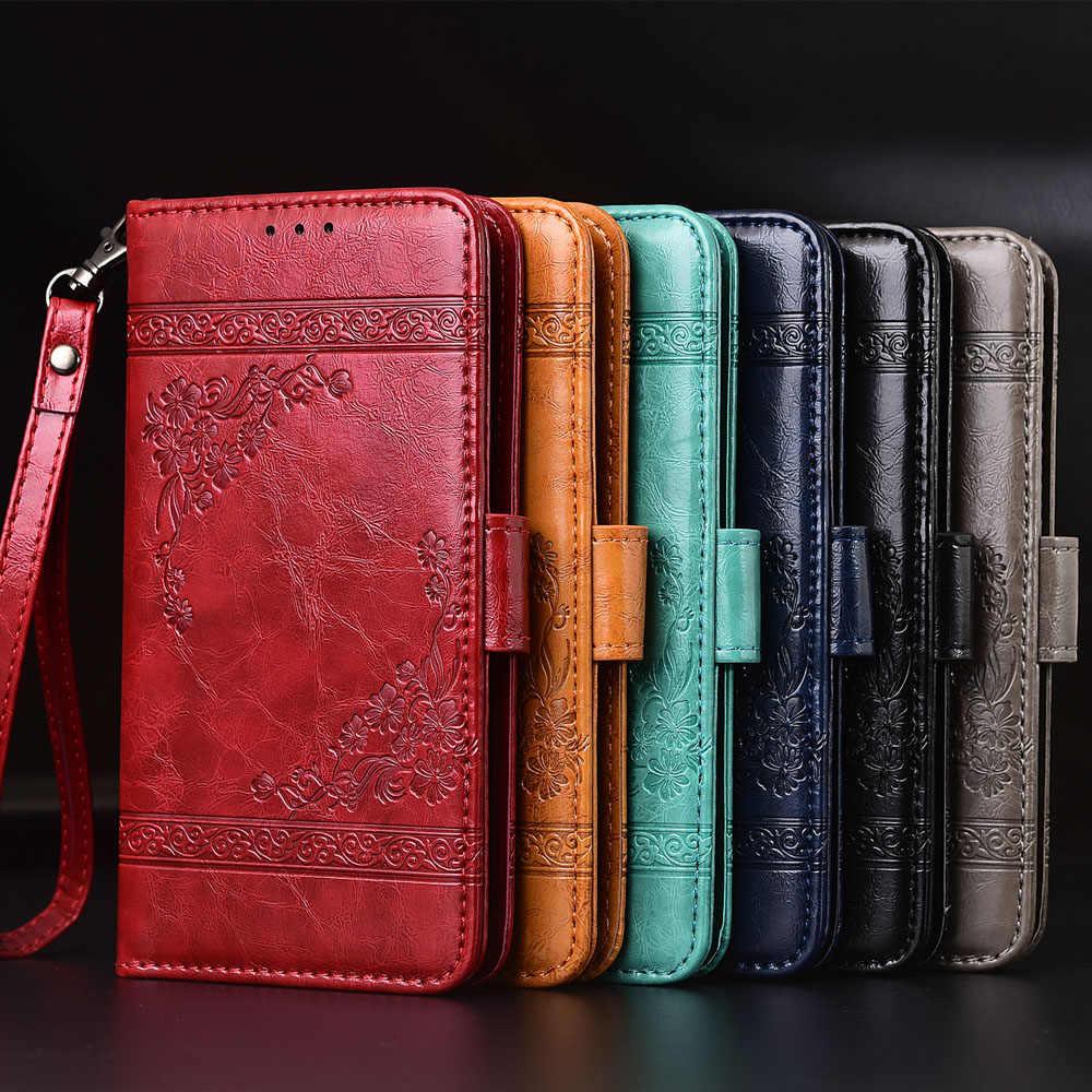 Etui portefeuille en cuir pour Meizu M6T M5S 16 16S 16X 15 Lite Plus étui pour Meizu M5 M6 Note 6 8 9 Fundas pochette de couverture complète pour carte
