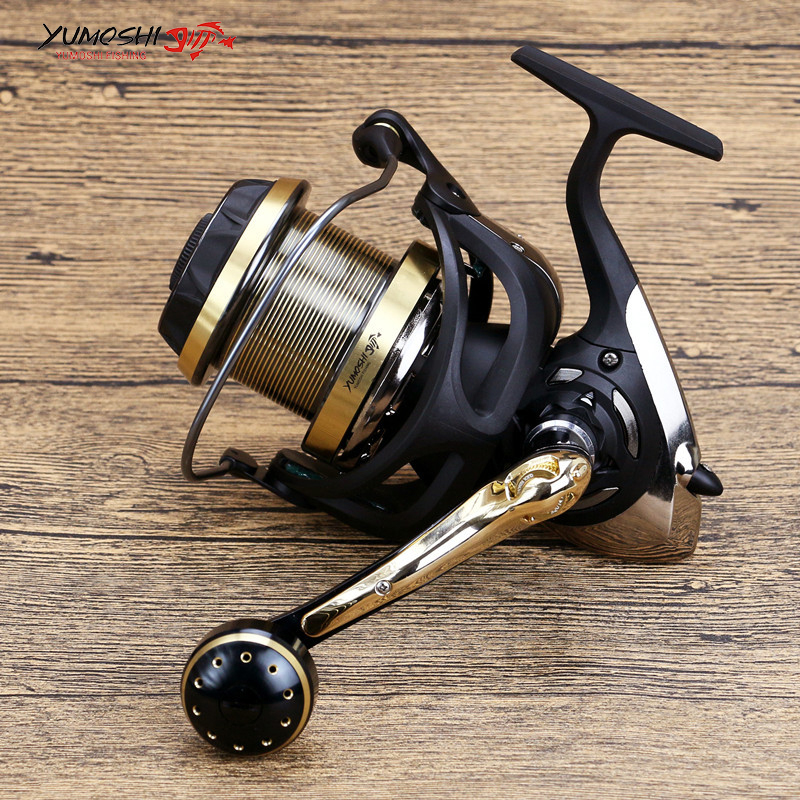 9+1 BB Carbon Fishing Reel 4000-9000 Ultra-hard Spinning Fishing Reel Left/Right Handle Stainless Steel Bearing Balls Reel 12 1 bb ball bearing left right fishing spinning reels sea fish line reel