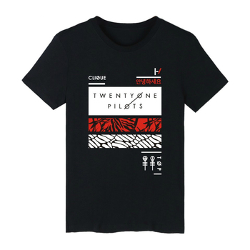 FUNG twenty one pilots T-shirt new fashion 2018 autumn short sleeve TX01