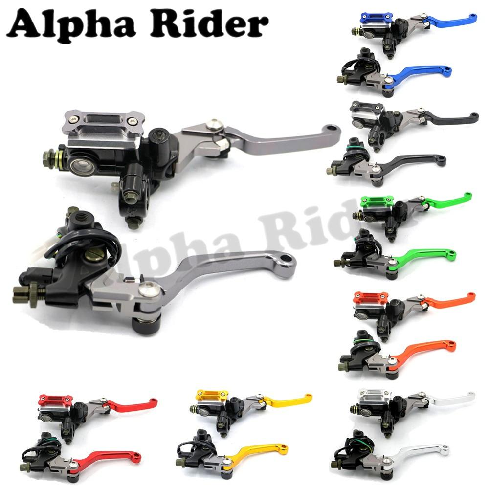 CNC Motorcycle 7/8 22MM Clutch Brake Master Cylinder Levers for Yamaha YZ80/85 YZ125 YZ250F YZ426F WR YZ TTR 250 YFZ450 DT230