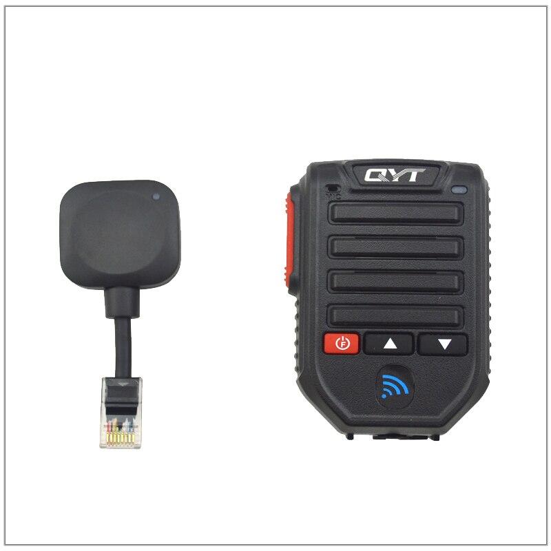 QYT BT-89 BT89 BLUETOOTH sans fil portable MCIROPHONE et haut-parleur 8 broches pour QYT KT-8900, KT-8900R, KT-7900D, KT-8900D Radio MobileQYT BT-89 BT89 BLUETOOTH sans fil portable MCIROPHONE et haut-parleur 8 broches pour QYT KT-8900, KT-8900R, KT-7900D, KT-8900D Radio Mobile