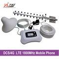 Уютный и модный ретранслятор 2 г 4 г с ЖК-DCS 1800 мГц мобильный усилитель сигнала с антенны яги и потолочная антенна