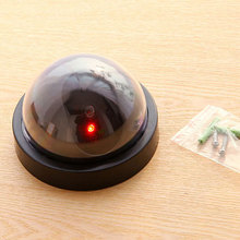 Simulated Security Camera Fake Dome Dummy with Flash LED Light S288