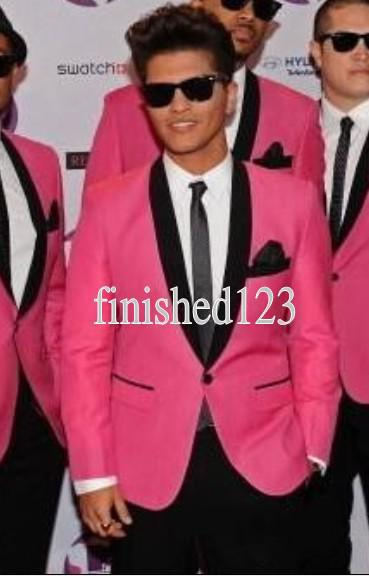 Popular Hot Pink Suit Custom Jacket-Buy Cheap Hot Pink Suit Custom