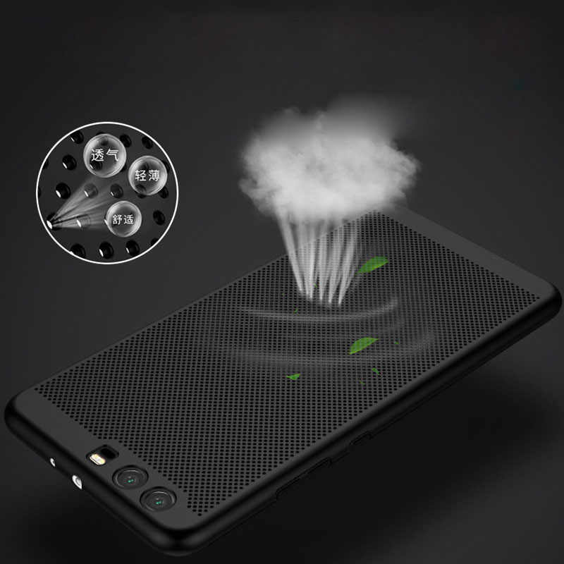 THREE-DIAO Heat Dissipation Case For Huawei Mate 10 P8 P9 P10 mini Lite 2017 Cover For Honor 8 9 10 7X 6X V9 V10 Lite