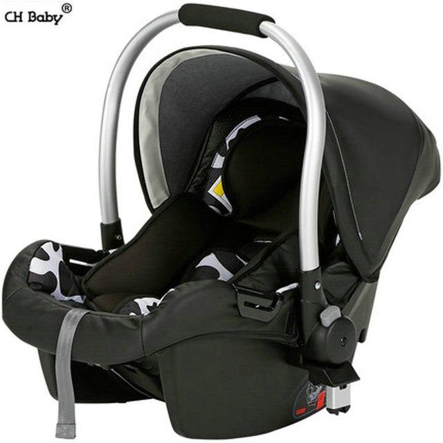 CH baby PU моды младенческой детское безопасное сиденье PP рамки детская кроватка люльки костюм для детской коляски и автомобиля