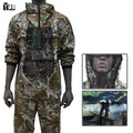 2015 nuevo uniforme de combate BDU traje hombres de camuflaje uniforme militar Airsoft caza ropa chaqueta de algodón para hombres establece 2 colores