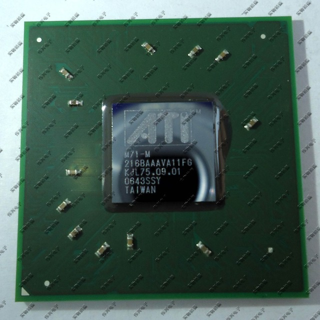 M71-M 216BAAAVA11FG  integrated chipset 100% new, Lead-free solder ball, Ensure original, not refurbished or teardown
