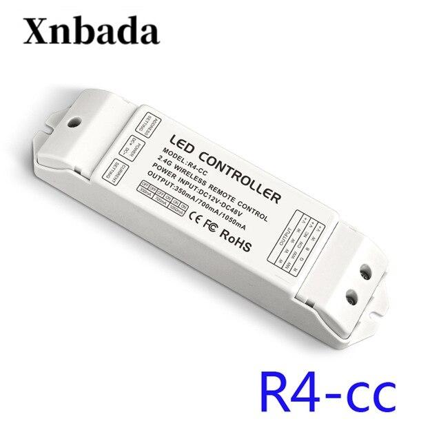 R4-CC LTECH DMX512 décodeur RGBW contrôleur courant constant dmx pilote de signal sans fil led gradateur