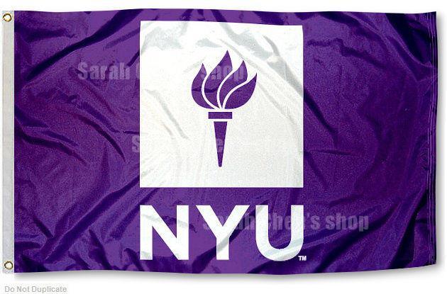 New York University Violets Flag NYU Large 3x5