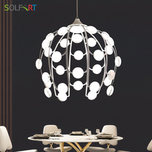 led Loft Pendant Lights Dining Room Lamp Modern Hanging Light Fixtures Abajur Lighting Lustre Vintage luminaria Led