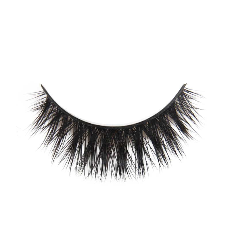3Pair False Eye Lashes Black Voluminous Natural False Eyelashes Makeup Thick Long Fake Eye Lashes Extention Beauty Semi-Handmade
