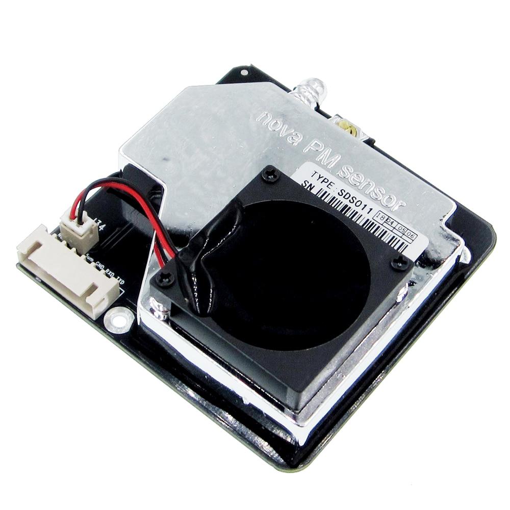 Image 2 - Nova PM сенсор SDS011 Высокоточный лазер pm2.5 Датчик качества воздуха модуль супер пыли датчики, цифровой выход-in Сенсоры from Электронные компоненты и принадлежности on AliExpress