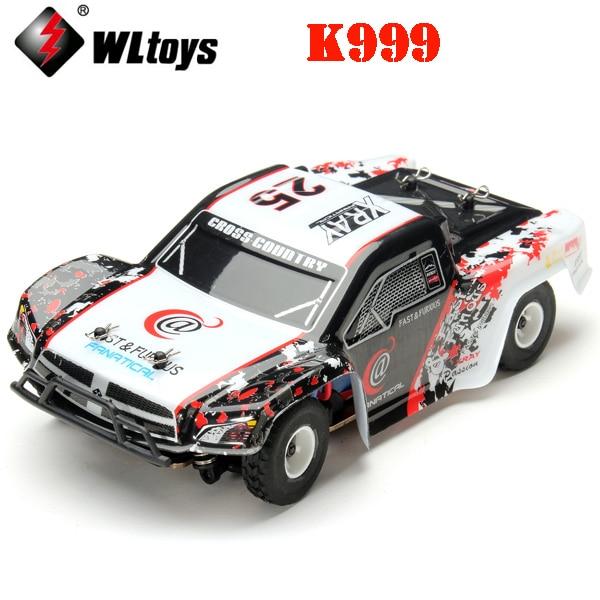 WLtoys K999 1/28 haute vitesse 4CH 4WD 2.4 GHz brossé voiture de rallye RC RTR