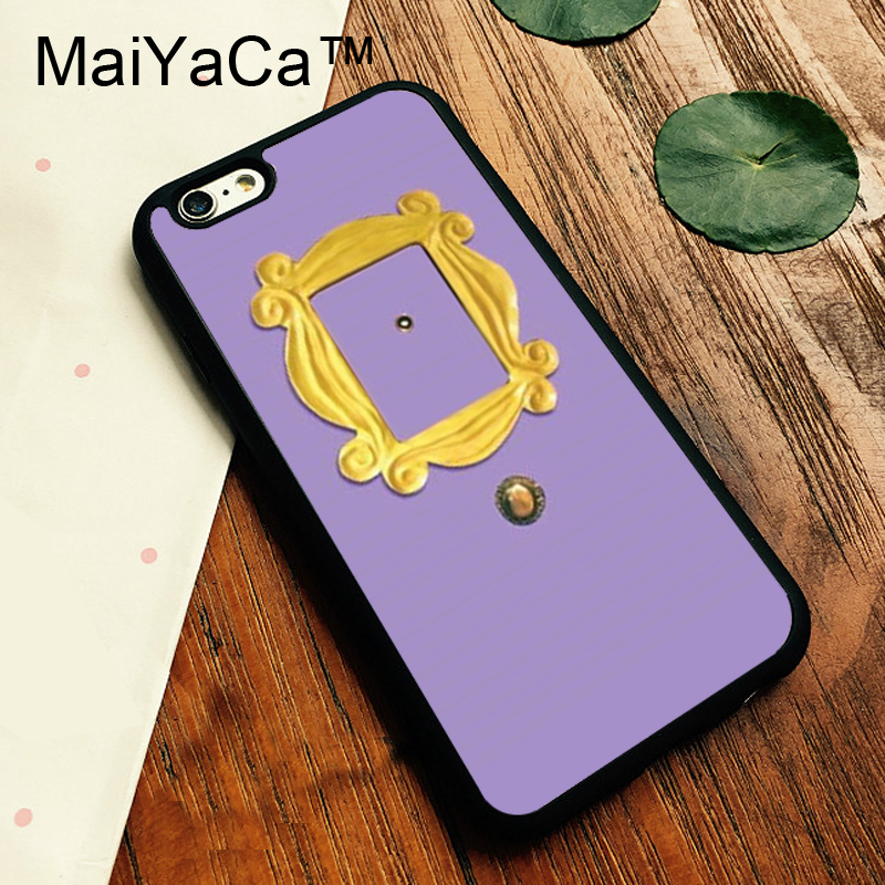 MaiYaCa Friends TV Show Monica's Door Cases For iPhone 6 Plus Phone Bag TPU Cover For iPhone 6s Plus Full Protector Accessories