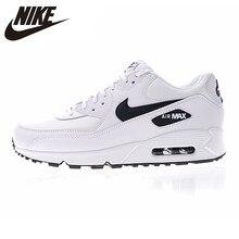 a10d0167 NIKE AIR MAX 90 ESSENTIAL мужские и женские кроссовки белые дышащие  амортизирующие легкие 325213 131