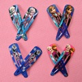 8PCS Snow Queen Anna Elsa Baby Hair Accessories Baby Girl Hairpins Barrette Hair Pin BB Clips Princess Hair Clips SP02