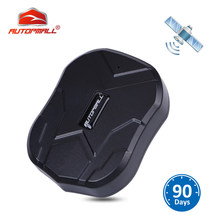 GPS Tracker Car Tracker Vehicle GPS Locator TK905 Waterproof Magnet Standby 90Days Real Time LBS Position Lifetime Free Tracking(China)