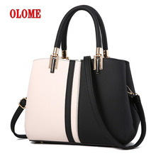 Brand Bag Female Color Matching Handbag Zipper Medium Hotsale Ladies Party Wallet New Shoulder Messenger