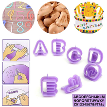 40 шт./1 комплект выпечки торта букв печенье Алфавит числа Плесень DIY Форма Кухня