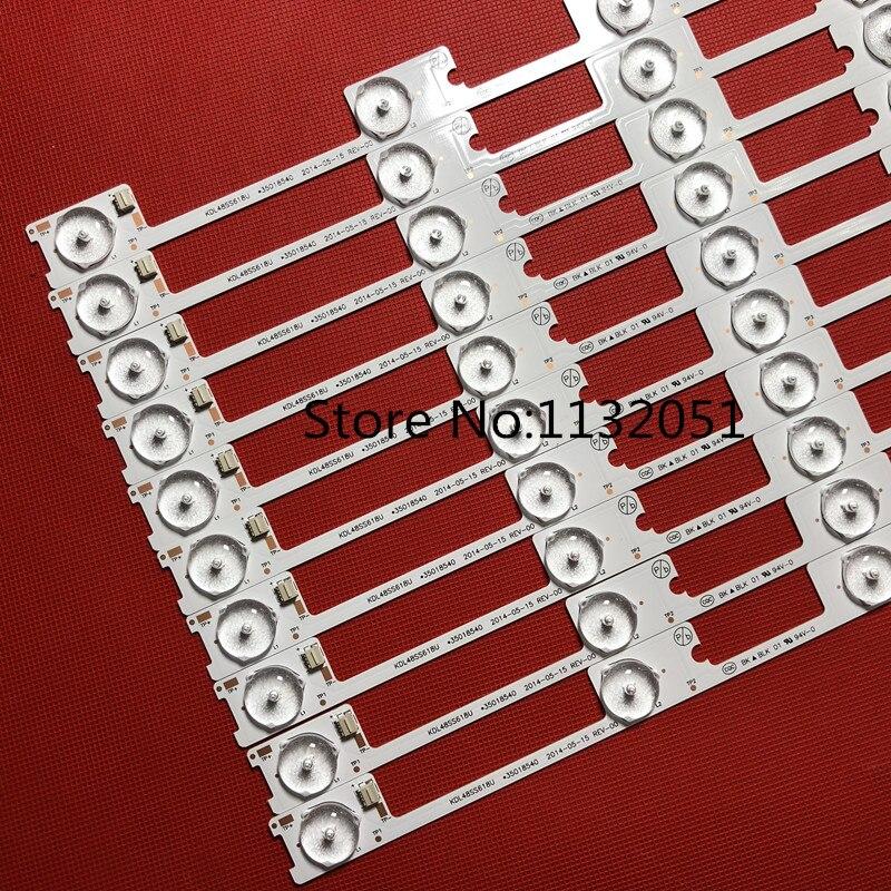 para KDL48JT618U KDL48JT618A 35018539 35018540 35018541 LEDS * 6 6 v 44.2 cm